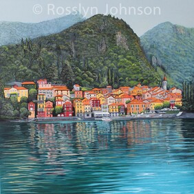Varenna, Lake Como, Italy. Artist collection, not for sale.